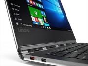 Eva Sành điệu - Lenovo Yoga 910 trang bị màn hình 4K và cảm biến dấu vân tay