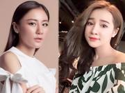 Làm đẹp - Loạt sao Việt khiến fan không thể nhận ra vì gương mặt bỗng nhiên khác lạ