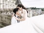 Thời trang - MC Mai Ngọc gây sốt khi tung ảnh mặc váy cưới Vera Wang tại Châu Âu