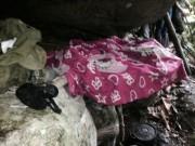 Cận cảnh hang ẩn náu của hung thủ gây thảm án ở Lào Cai