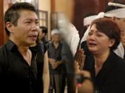 """Video: Nghẹn ngào nước mắt rơi tiễn biệt """"lão Quềnh"""" Hán Văn Tình"""