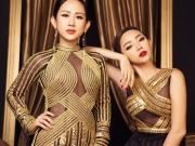 Làng sao - Trâm Nguyễn – Tóc Tiên diện đầm lộng lẫy như nữ hoàng