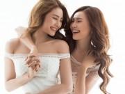 Làng sao - Lan Ngọc, Linh Chi thân thiết như chị em sau