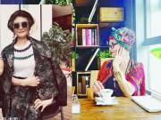 Thời trang - Cực ngầu và sành điệu, ai có thể tin được đây là bà lão 73 tuổi!
