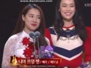 Clip Eva - Video: Lần đầu tiên Nabi Nhã Phương trổ tài nói tiếng Anh tại Hàn Quốc