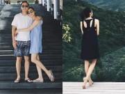 Làng sao - Vợ chồng Tăng Thanh Hà ôm nhau lãng mạn khi đi nghỉ dưỡng