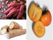 Bếp Eva - Những loại củ, quả nào không nên ăn cả vỏ