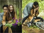 Làng sao - Hà Anh Tuấn tình cảm ôm Thanh Hằng trong rừng vắng
