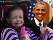 Clip Eva - Phản ứng đáng yêu của cô bé khi biết tin Obama sắp hết nhiệm kỳ