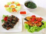 Bếp Eva - Bữa cơm ngon và đẹp mắt ngày mát trời