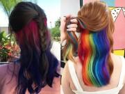 Làm đẹp - Đây mới là mốt tóc nhuộm khiến phái đẹp đảo điên thời gian qua