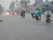 Tin tức - Bão số 4 đã suy yếu thành áp thấp nhiệt đới, gây mưa to ở miền Trung
