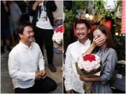 Khánh Hiền nghẹn ngào khi được bạn trai Việt kiều cầu hôn trước mặt fan