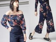 Tin tức thời trang - Bộ đôi mới của mùa: Style buông rủ kết hợp họa tiết in hoa