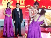 Làng sao - Mang thai 4 tháng, bà bầu Lâm Tâm Như vẫn diện áo khoe lưng trần táo bạo