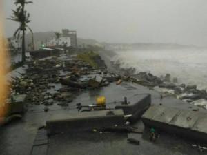 Siêu bão Meranti mạnh ngang ngửa Haiyan đã vào Biển Đông