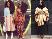 Thời trang - Tuần lễ thời trang New York: Váy áo lập dị thống lĩnh đường phố