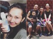 Sao Việt - Bỏ sự nghiệp để ở nhà chăm con, Kim Hiền vẫn mãn nguyện vì luôn được chồng yêu