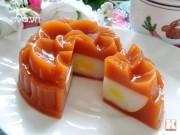 Bánh Trung thu rau câu vị trà Thái ngon mát