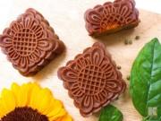 Bánh Trung thu vị sô cô la thơm ngon, ít ngọt