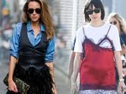 Thời trang - Các cô gái New York sành điệu đang mê cách phối đồ