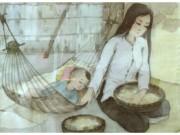 Tin tức cho mẹ - Những chiếc nôi và giấc ngủ của bé qua các thời kì