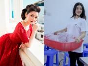 Thời trang - Lý Nhã Kỳ chỉ diện áo thun đi từ thiện dù sở hữu kho đồ hiệu tiền tỷ