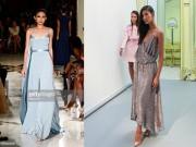 Thời trang - Hoàng Thùy, Kha Mỹ Vân trình diễn tại London và New York Fashion Week