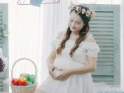 Bà bầu - Tăng 18kg khi mang bầu, mẹ 9x vẫn xinh lung linh