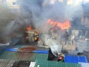 Ngày mới - Cháy lán trọ công nhân giữa Thủ đô, dân hoảng loạn tháo chạy