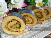 Bếp Eva - Bánh bông lan cuộn kiểu sushi ngon mê ly