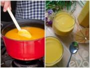 Làm mẹ - Công thức nấu sữa và cháo bí đỏ cho bé gầy tăng cân vùn vụt
