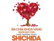 Xem & Đọc - Ba chìa khóa vàng nuôi dạy con theo phương pháp Shichida
