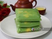 Bếp Eva - Tự làm bánh cốm dẻo ngon mang hương sắc mùa thu