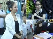 Làng sao - Ốc Thanh Vân nước mắt lưng tròng, Cẩm Ly kể kỷ niệm đặc biệt khi tới viếng Minh Thuận