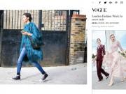 Thời trang - Hoàng Thùy lọt street style đẹp trên Vogue Italia