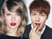 Làng sao - Thực hư chuyện Lee Min Ho hẹn hò Taylor Swift khiến các fan bật cười