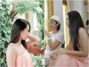 Xem & Đọc - Việt Trinh, Văn Phượng thân thiết như chị em