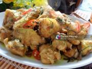 Bếp Eva - Thịt gà rang lá chanh thơm phức, đưa cơm