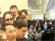 Làng sao - Ca sĩ Nhật Hào bị móc iPhone trong đám tang Minh Thuận