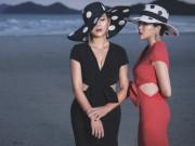 """Thời trang công sở chất lừ của hai quý cô """"song sinh"""""""