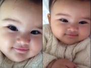 Clip Eva - Video: Em bé nháy mắt biểu cảm siêu đáng yêu