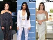 Làm đẹp - 20 ngôi sao dưới 1m60 vẫn nổi tiếng sexy xinh đẹp khắp thế giới