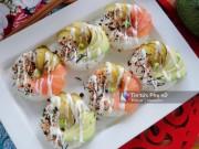 Bếp Eva - Cách làm sushi donut vừa đẹp vừa ngon