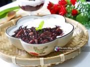 Bếp Eva - Chè nếp cẩm khoai môn dẻo ngon, thơm mát