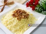 Bếp Eva - Xôi ngô đậu xanh đơn giản cho bữa sáng