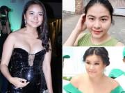 Bà bầu - Nhan sắc 'xuống dốc không phanh' vì tăng 20-30kg khi bầu bí của sao Việt