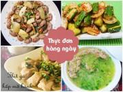 Bếp Eva - Bữa cơm chiều nhiều món ngon miệng
