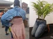 Thời trang - Muôn kiểu sáng tạo khiến bạn cười lăn từ quần jeans cũ