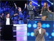 Chung kết Vietnam Idol: Thu Minh, Phan Anh bất ngờ  & quot;quậy tưng & quot; cùng người đẹp Philippines